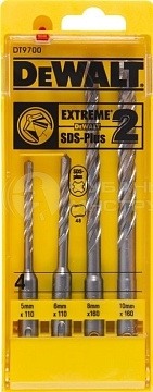 Набор Dewalt SDS-plus 5, 6, 8,10 (4шт) DT 9700